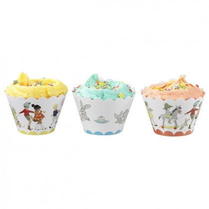 Belle & Boo Cupcake Wrappers