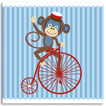 Birthday Card KatyJane Designs Cheeky Monkey
