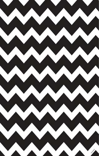 Specklefarm Black White Chevron Wrapping Paper