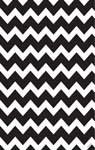 Gift Wrap Specklefarm Black & White Chevron