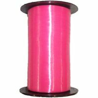 Magenta Flat Satin Balloon Ribbon
