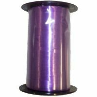Purple Flat Satin Balloon Ribbon per metre