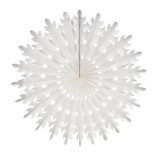 Sunburst Lantern Large White
