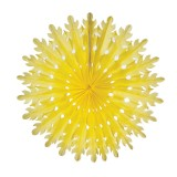 Sunburst Lantern Yellow